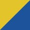Sporty Yellow/Dark Royal Blue