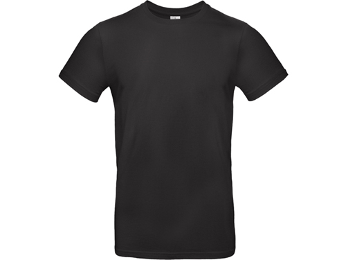 EXALTICO pánské tričko, 145 g/m2, vel. XXL, B&C, černá