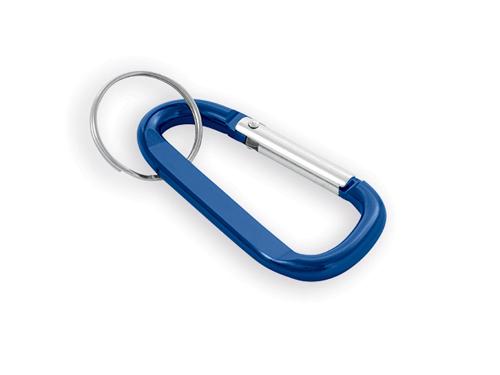 GARIN kovový přívěsek na klíče, karabina, Modrá