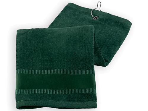 GOLF TOWEL II golfový ručník, Zelená