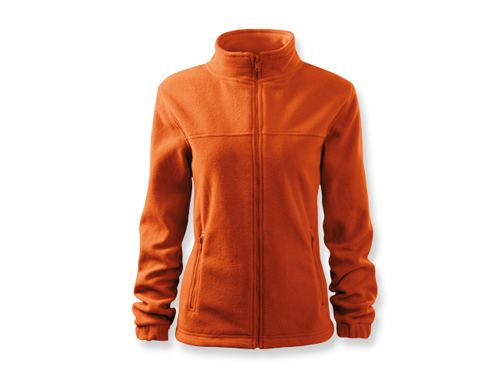 OLIVIE dámská fleecová bunda, 280 g/m2, vel. M, ADLER, oranžová
