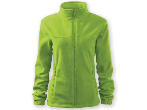 OLIVIE dámská fleecová bunda, 280 g/m2, vel. M, ADLER, reflexní zelená