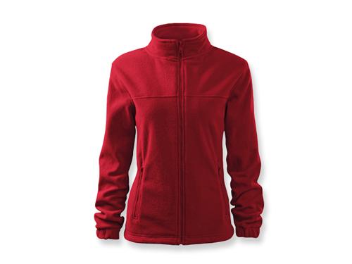 OLIVIE dámská fleecová bunda, 280 g/m2, vel. M, ADLER, tmavě červená