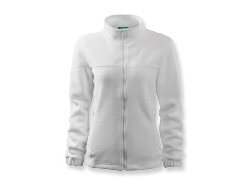 OLIVIE dámská fleecová bunda, 280 g/m2, vel. XL, ADLER, bílá