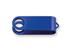OTOČNÝ KRYT kovový otočný kryt - USB FLASH MIX, Modrá