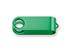 OTOČNÝ KRYT kovový otočný kryt - USB FLASH MIX, Zelená