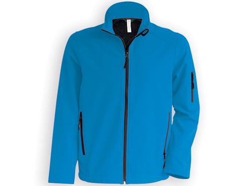 RESU pánská softshellová bunda, 280 g/m2, vel. XL, RESULT, Modrá