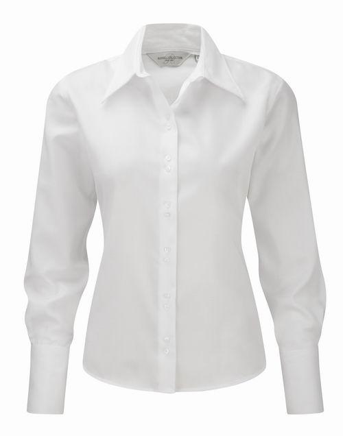 Dámská košile s dlouhými rukávy Ultimate v nežehlivé úpravě - Tisk ... 576cfeecf3