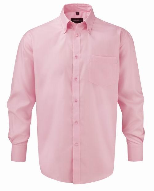 Pánská košile s dlouhými rukávy Ultimate v nežehlivé úpravě - Tisk ... ef597211fe
